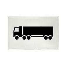Truck Rectangle Magnet