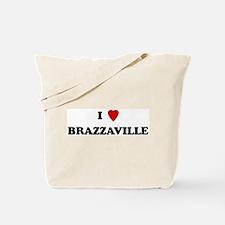 I Love Brazzaville Tote Bag