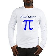 Blueberry Pi Long Sleeve T-Shirt