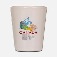 O Canada: Shot Glass