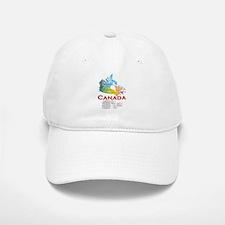 O Canada: Baseball Baseball Cap