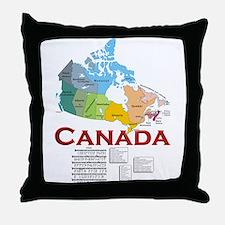 O Canada: Throw Pillow