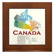 O Canada: Framed Tile