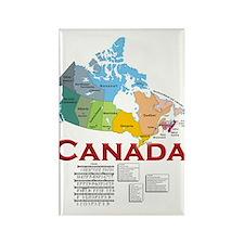 O Canada: Rectangle Magnet