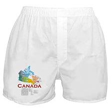 O Canada: Boxer Shorts