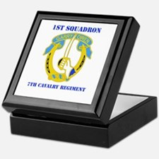 DUI - 1st Sqdrn - 7th Cavalry Regt with Text Keeps