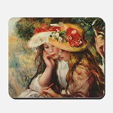 Young Artists, Renoir Mousepad