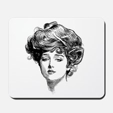 Gibson Girl Mousepad