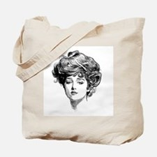 Gibson Girl Tote Bag