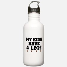 'My Kids Have 4 Legs' Water Bottle
