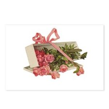 Romantic Roses Postcards (Package of 8)