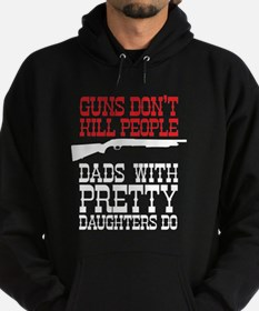 Guns don't kill people Hoodie