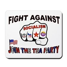 FIGHT SOCIALISM Mousepad