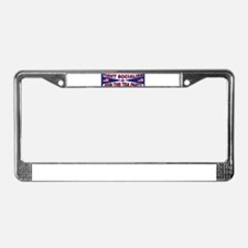 FIGHT SOCIALISM License Plate Frame