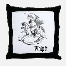Whip It Throw Pillow