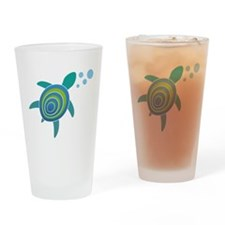 Ocean Doctor Sea Turtle Drinking Glass