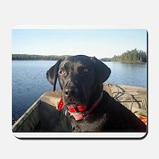 Black Labrador Retriever Mousepad
