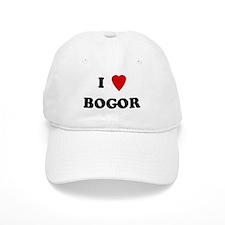I Love Bogor Baseball Cap