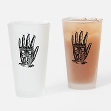 Steampunk Machine Hand Drinking Glass