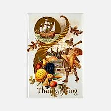Autumn Harvest Rectangle Magnet (10 pack)