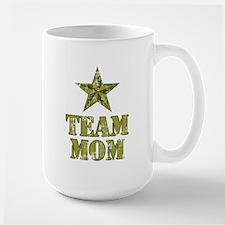Team Mom General's Star Large Mug