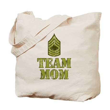 Team Mom Drill Sergeant Tote Bag
