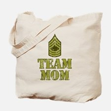 Team Mom Drill Sergeant Tote Bag