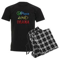 Peace Love Drama Pajamas