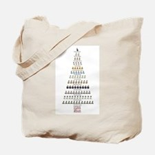 Jane Austen Twelve Days Christmas P&P Tote Bag