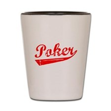 Poker Shot Glass