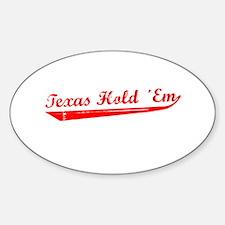 Texas Hold 'Em Decal