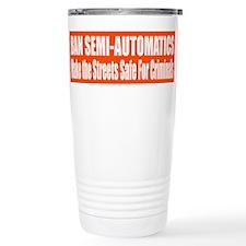 Ban Semi-Automatics Travel Mug
