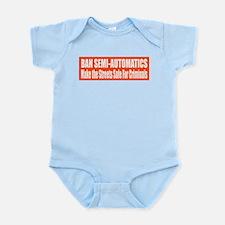 Ban Semi-Automatics Infant Bodysuit