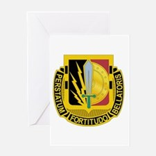 DUI - 2nd BCT - Special Troops Bn Greeting Card