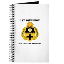 DUI - 1st Sqdrn - 5th Cavalry Regt with Text Journ