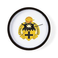 DUI - 1st Sqdrn - 5th Cavalry Regt Wall Clock