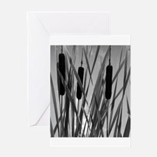 """Cattails II"" Greeting Card"