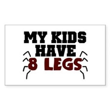 'My Kids Have 8 Legs' Decal