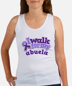 Alzheimers Walk For Abuela Women's Tank Top