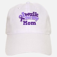 Alzheimers Walk For Mom Baseball Baseball Cap