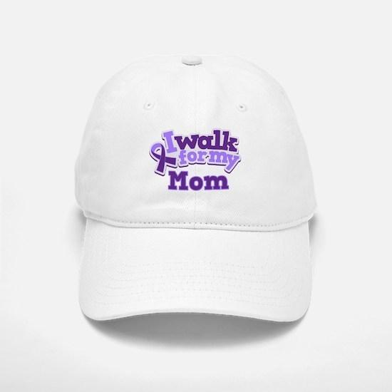 Alzheimers Walk For Mom Baseball Baseball Cap