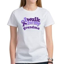Alzheimers Walk For Grandma Tee