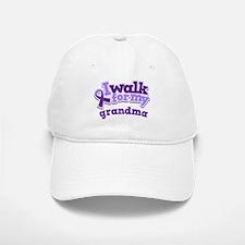 Alzheimers Walk For Grandma Baseball Baseball Cap