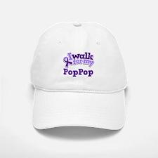 Alzheimers Walk For PopPop Baseball Baseball Cap