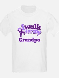 Alzheimers Walk For Grandpa T-Shirt