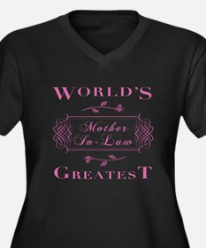 World's Greatest Mother-In-Law (Rose) Women's Plus