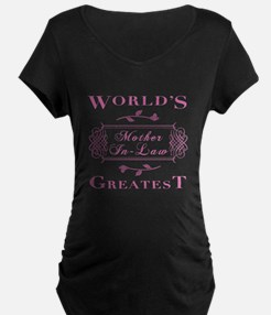 World's Greatest Mother-In-Law (Rose) T-Shirt