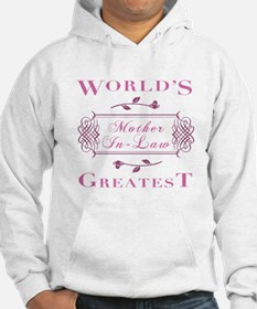 World's Greatest Mother-In-Law (Rose) Hoodie