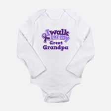 Alzheimers Walk For Great Grandpa Long Sleeve Infa