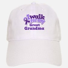 Alzheimers Walk For Great Grandma Baseball Baseball Cap